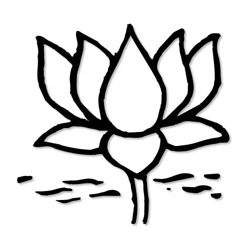 Party (BJP), Hand Sign of